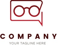 Business Logo Templates - vector graphics in a pack from GraphicMama - Creative Glasses Company Logo Design Concept