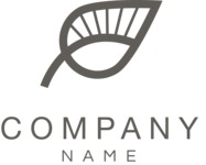 Business Logo Templates - vector graphics in a pack from GraphicMama - Black and White Ecology Company Vector Logo Design