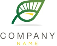 Business Logo Templates - vector graphics in a pack from GraphicMama - Eco Company Vector Logo Design with a Leaf