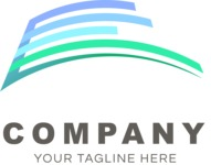 Company logo surface color