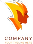 Business Logo Templates - vector graphics in a pack from GraphicMama - Business logo fireman color