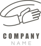 Business Logo Templates - vector graphics in a pack from GraphicMama - Company logo hand black