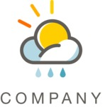 Business Logo Templates - vector graphics in a pack from GraphicMama - Company logo weather color