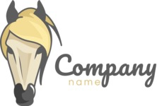 Business Logo Templates - vector graphics in a pack from GraphicMama - Horse business logo color
