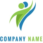 Business Logo Templates - vector graphics in a pack from GraphicMama - Company logo dance color