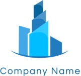 Business logo buildings color