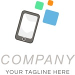 Business Logo Templates - vector graphics in a pack from GraphicMama - Company logo mobile color
