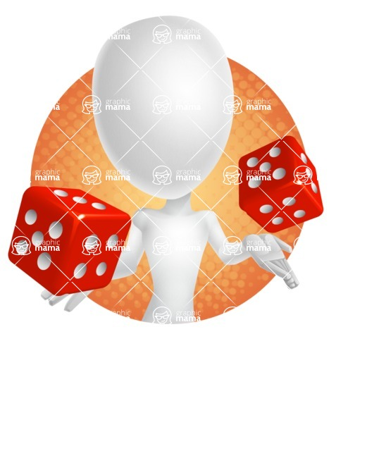 Vector 3D Man Model Cartoon Character AKA Maddox - Shape2