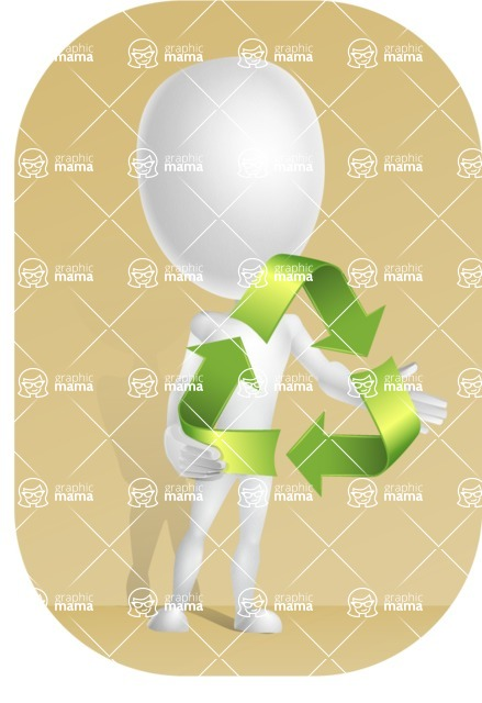 Vector 3D Man Model Cartoon Character AKA Maddox - Shape9