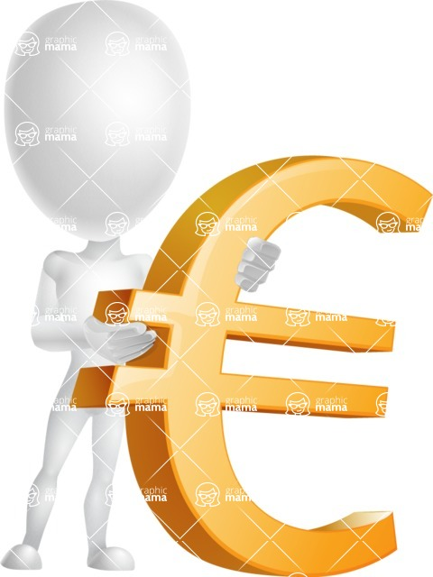 Vector 3D Man Model Cartoon Character AKA Maddox - Euro