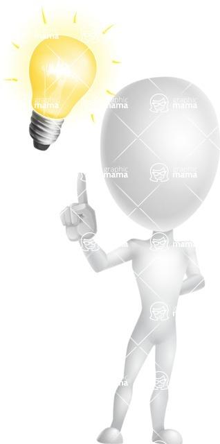Vector 3D Man Model Cartoon Character AKA Maddox - Idea