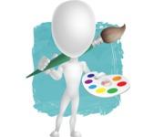 Vector 3D Man Model Cartoon Character AKA Maddox - Shape12