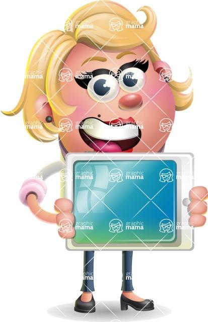 Sandra Jobs - iPad 2