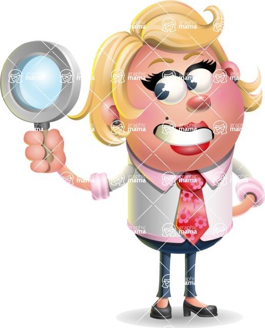 Stop Motion Style Business Girl Cartoon Vector Character AKA Sandra Jobs - Search