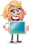 Sandra Jobs - iPad 2