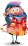 Man with Big Beard Cartoon 3D Vector Character AKA Ernest O'Beard - Gift