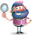 Man with Big Beard Cartoon 3D Vector Character AKA Ernest O'Beard - Search