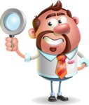 Businessman with Goatee Cartoon 3D Vector Character AKA Jordan - Search