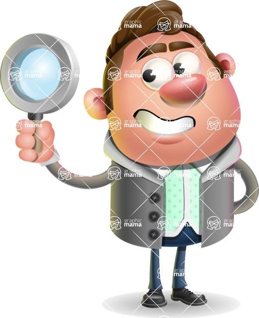 Fashionable Man Cartoon 3D Vector Character AKA Lincoln - Search