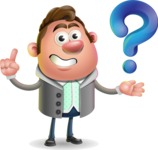 Fashionable Man Cartoon 3D Vector Character AKA Lincoln - Question