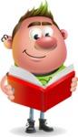 Punk Boy Cartoon Vector 3D Character AKA Carter Punk - Book 1