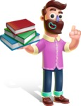 Plasticine Man Cartoon Vector Character AKA Gerald MacBeard - Book 2