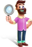 Plasticine Man Cartoon Vector Character AKA Gerald MacBeard - Search