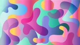 vector backgrounds - a rich collection (vector pack) of beautiful shapes and modern color palettes - Abstract Vector Background with Colorful Splashes