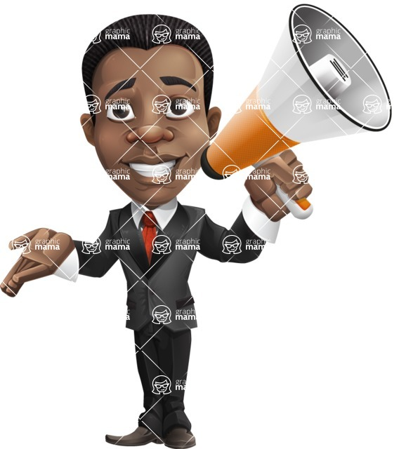 Chris the Business Whiz - Loudspeaker