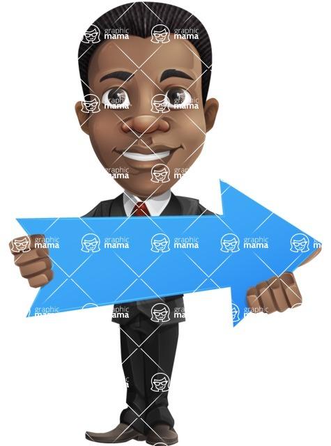 Chris the Business Whiz - Arrow2