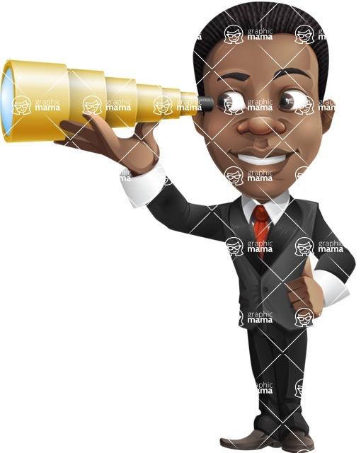 Chris the Business Whiz - Telescope