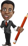 Chris the Business Whiz - Pencil