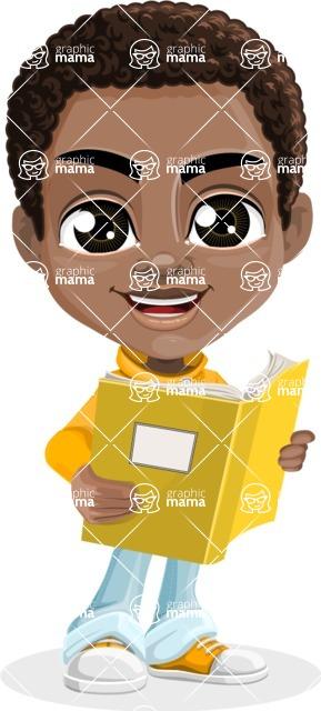 Jorell the Playful African American Boy - Book 2