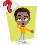 Jorell the Playful African American Boy - Shape 10