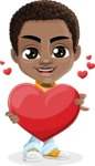 Jorell the Playful African American Boy - Love