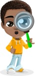 African American School Boy Cartoon Vector Character AKA Jorell - Search
