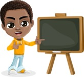 Jorell the Playful African American Boy - Presentation 1