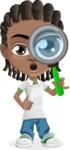 Cute African American Boy Cartoon Vector Character AKA Mason the Cool Boy - Search