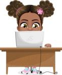 Anita the Playful Little Girl - Laptop 3