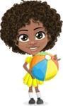 Alana the African American Sunshine - Beach 1