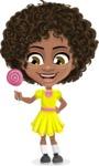 Alana the African American Sunshine - Candy