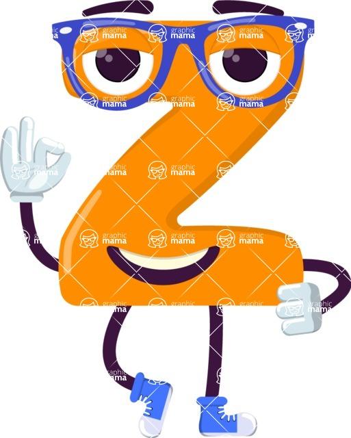 Vector Alphabet Creator - Letter 26