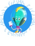 Alan the Alien Explorer - Shape 1