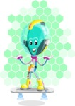 Alan the Alien Explorer - Shape 7
