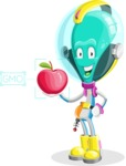 Alan the Alien Explorer - Apple