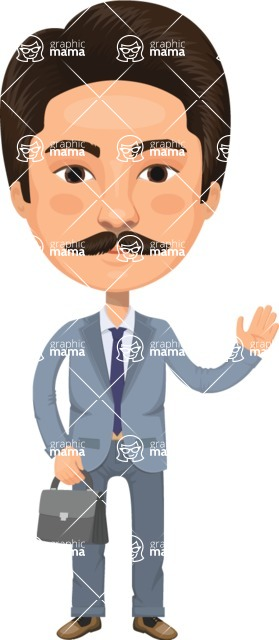 American People Vector Cartoon Graphics Maker - Man 7