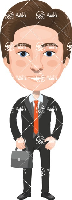 American People Vector Cartoon Graphics Maker - Man 18