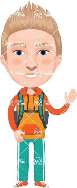 American People Vector Cartoon Graphics Maker - Man 20