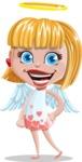 Angel Kid Vector Cartoon Character AKA Stella the Shining Angel - Normal