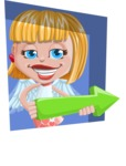 Angel Kid Vector Cartoon Character AKA Stella the Shining Angel - Shape 3